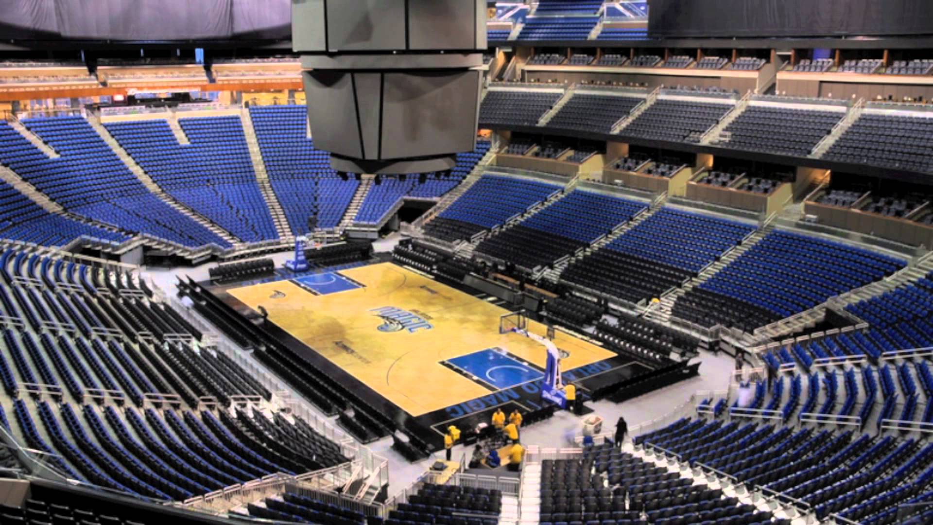 Amway Center Event Time Lapse